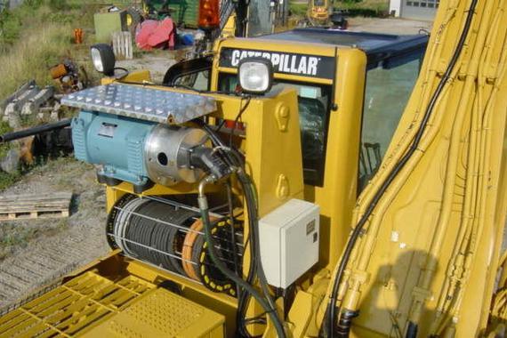 Driv- & styrsystem för lyftmagneter